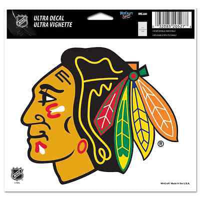 "Chicago Blackhawks 5""x6"" Decal"