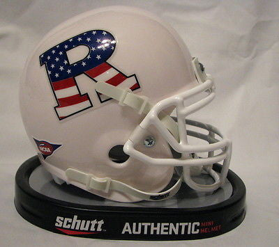 Rutgers Scarlet Knights Patriotic R Schutt Mini Helmet - Alternate 1