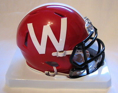 Wisconsin Badgers Riddell Speed Mini Helmet - 2012 Red Alternate