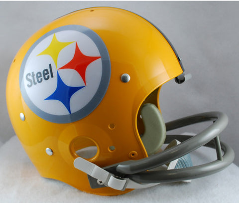 Pittsburgh Steelers 1962 TK Riddell Helmet