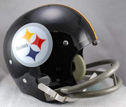 Pittsburgh Steelers 1963-1976 TK Riddell Helmet