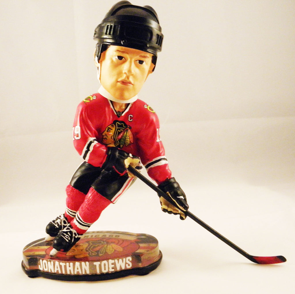 Jonathan Toews Chicago Blackhawks Puck Base Bobblehead
