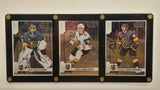 Vegas Golden Knights Fleury, Karlsson, & Marchessault Card Set In 3 Card Holder