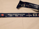 "Chicago Cubs World Series Champions 24"" Lanyard"