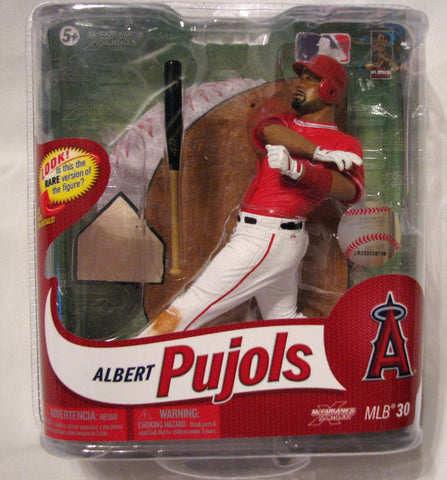 Albert Pujols Los Angeles Angels McFarlane MLB Series 30