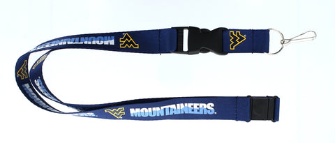 "West Virginia Mountaineers 24"" Lanyard"