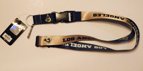 "Los Angeles Rams Dual Color 24"" Lanyard"