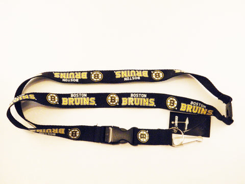 "Boston Bruins 22"" Single Sided Lanyard"