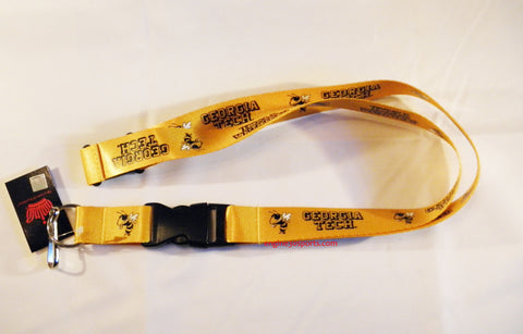 "Georgia Tech Yellow Jackets 24"" Lanyard"
