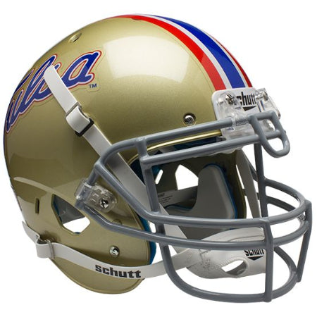 Tulsa Golden Hurricane Schutt XP Authentic Helmet