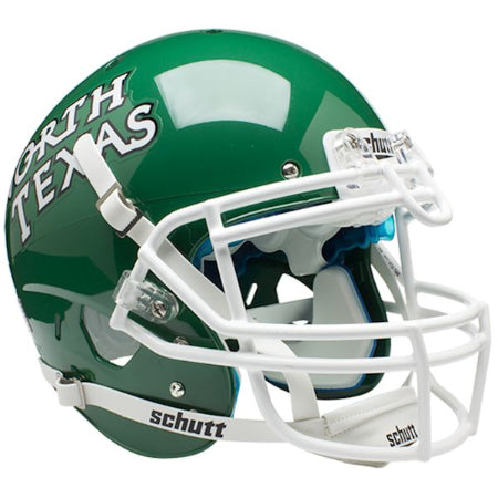 North Texas Mean Green Schutt XP Authentic Helmet