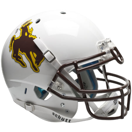 Wyoming Cowboys Schutt XP Authentic Helmet