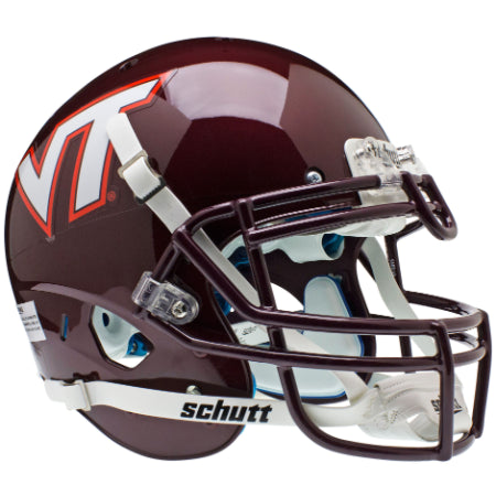 Virginia Tech Hokies Schutt XP Authentic Helmet
