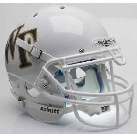 Wake Forest Demon Deacons White Schutt XP Authentic Helmet - Alternate 1
