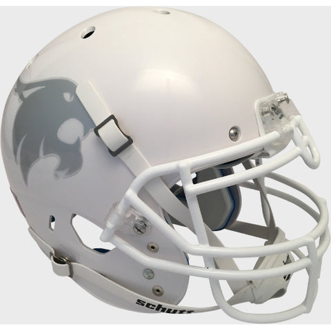Texas State Bobcats White Schutt XP Authentic Helmet - Alternate 1