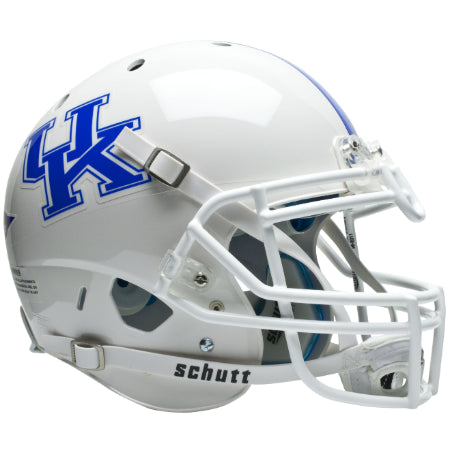 Kentucky Wildcats White Schutt XP Authentic Helmet - Alternate 1