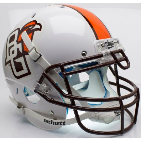 Bowling Green Falcons White Schutt XP Authentic Helmet - Alternate 1