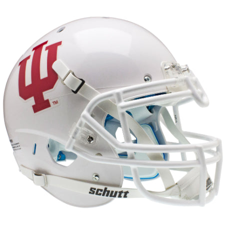 Indiana Hoosiers White Schutt XP Authentic Helmet - Alternate 1