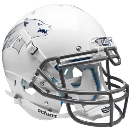 Nevada Wolfpack White Schutt XP Authentic Helmet - Alternate 1