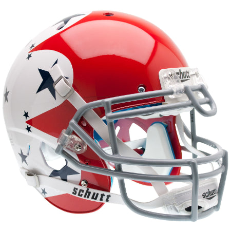 Air Force Falcons Thunderbirds Tribute Schutt XP Authentic Helmet - Alternate 1