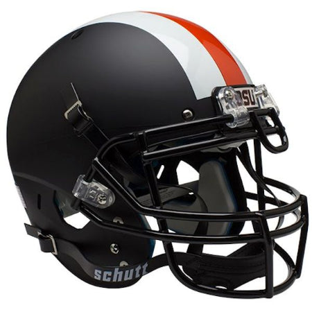 Oregon State Beavers Matte Black Schutt XP Authentic Helmet - Alternate 2