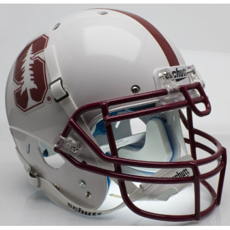 Stanford Cardinal 2015 White Schutt XP Authentic Helmet