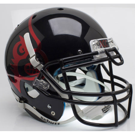Louisville Cardinals Black Schutt XP Authentic Helmet - Alternate 2