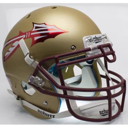 Florida State Seminoles Chrome Decals Schutt XP Authentic Helmet - Alternate 2