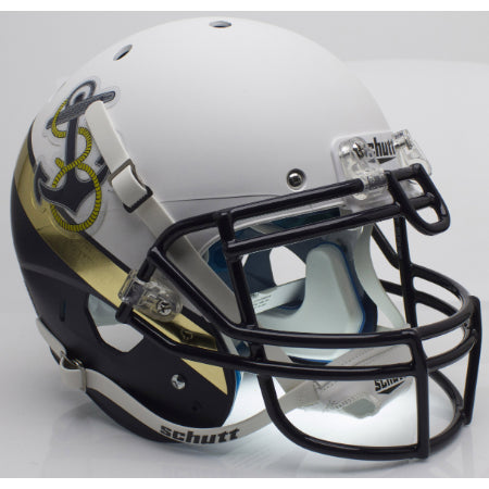 Navy Midshipmen 2012 Special Schutt XP Authentic Helmet - Alternate 2