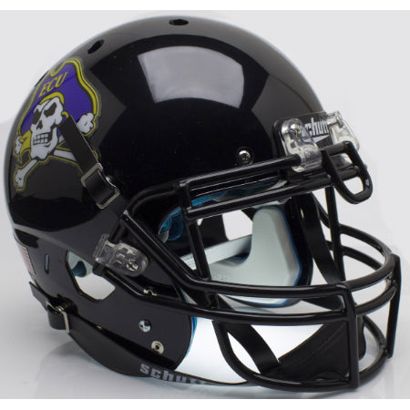 East Carolina Pirates Black Schutt XP Authentic Helmet - Alternate 2
