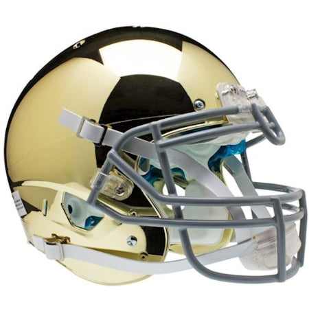 Notre Dame Fighting Irish Chrome Schutt XP Authentic Helmet - Alternate 2