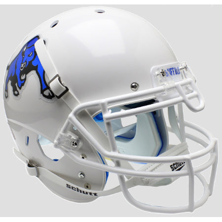 Buffalo Bulls White with Bull Logo Schutt XP Authentic Helmet - Alternate 2