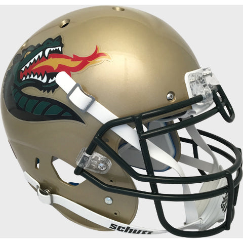 Alabama Birmingham UAB Blazers Gold with Large Logo Schutt XP Authentic Helmet - Alternate 2