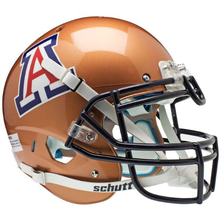 Arizona Wildcats Copper Schutt XP Authentic Helmet - Alternate 2