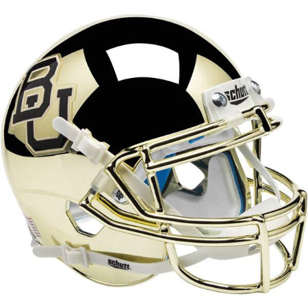 Baylor Bears Chrome Schutt XP Authentic Helmet - Alternate 3