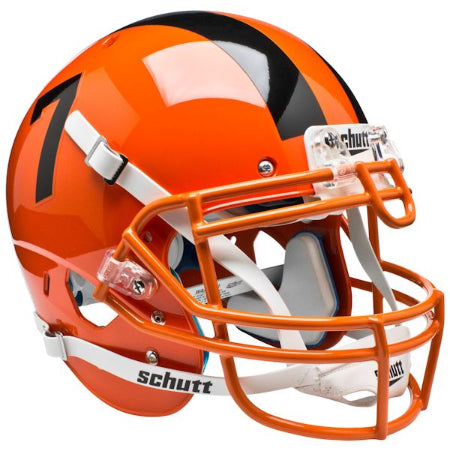 Oregon State Beavers Orange Schutt XP Authentic Helmet - Alternate 3