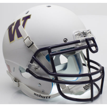 Washington Huskies White Schutt XP Authentic Helmet - Alternate 3