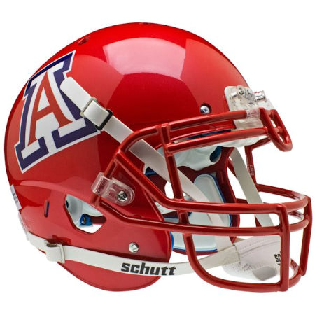 Arizona Wildcats Scarlet Schutt XP Authentic Helmet - Alternate 3