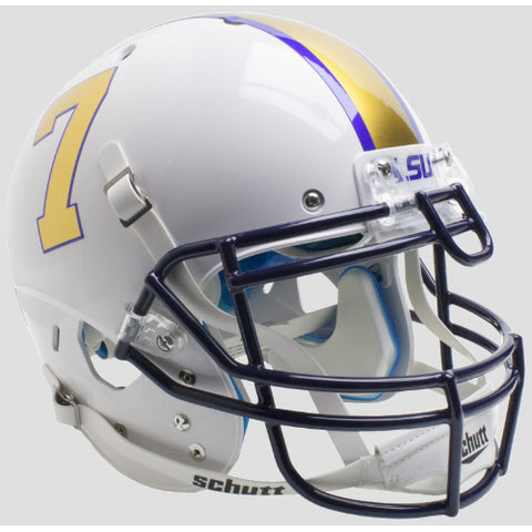 LSU Tigers Gridiron Gold Schutt XP Authentic Helmet - Alternate 3