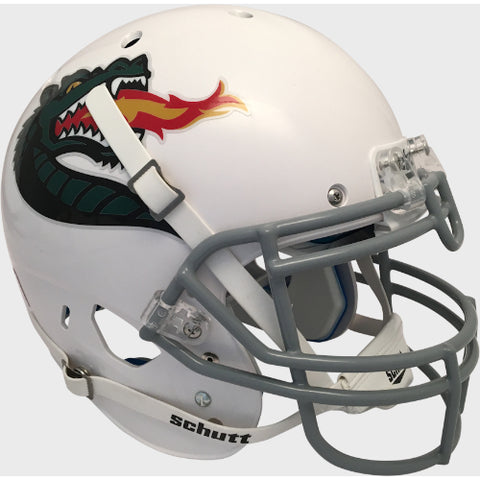 Alabama Birmingham UAB Blazers White with Large Logo Schutt XP Authentic Helmet - Alternate 3