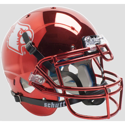 Louisville Cardinals Red Chrome Schutt XP Authentic Helmet - Alternate 4