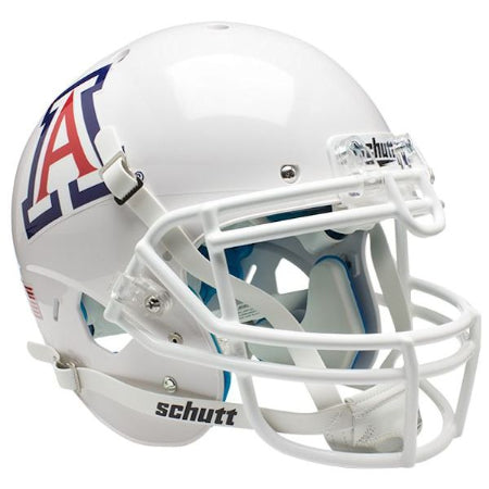 Arizona Wildcats White Schutt XP Authentic Helmet - Alternate 4