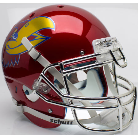 Kansas Jayhawks Chrome Schutt XP Authentic Helmet - Alternate 5
