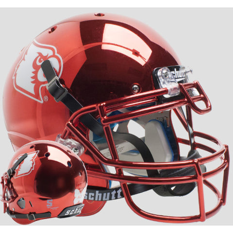 Louisville Cardinals Red Chrome Ali Schutt XP Authentic Helmet - Alternate 5