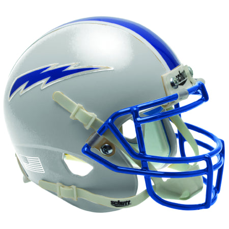 Air Force Falcons Grey Schutt XP Authentic Helmet - Alternate 6
