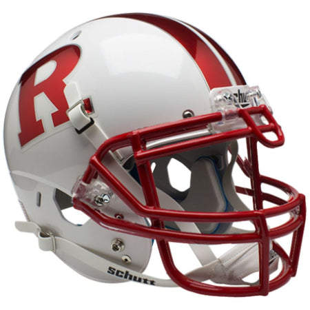 Rutgers Scarlet Knights Chrome R Schutt XP Authentic Helmet - Alternate 7
