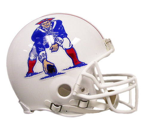New England Patriots Throwback 1982-1989 Riddell Authentic Pro Line Helmet