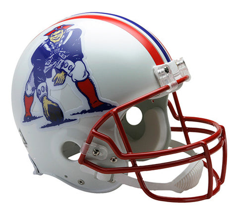 New England Patriots Throwback 1990-1992 Riddell Authentic Pro Line Helmet