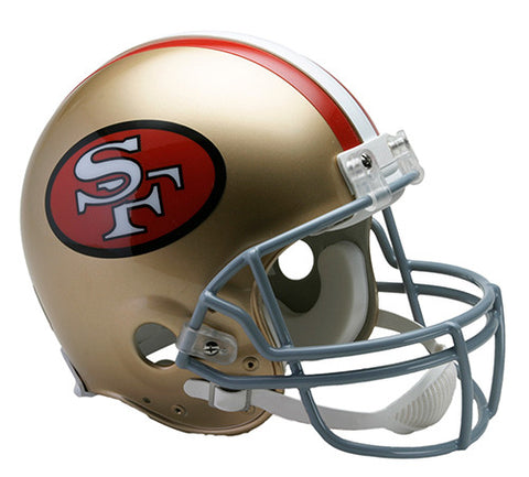 San Francisco 49ers Throwback 1964-1995 Riddell Authentic Pro Line Helmet