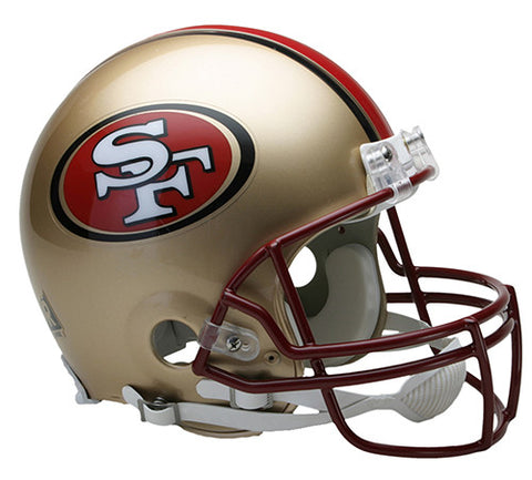 San Francisco 49ers Throwback 1996-2008 Riddell Authentic Pro Line Helmet